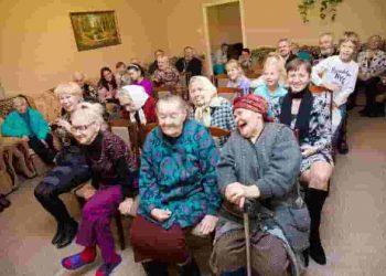досуг в доме для пожилых людей