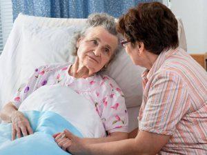 догляд за людьми похилого віку при подагрі