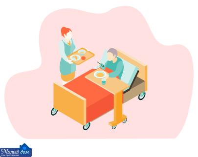 Правильное питание для пожилых людей