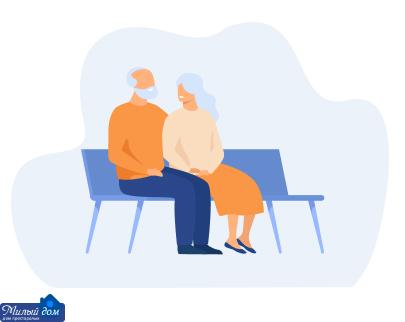 Деменція у людей похилого віку, особливості догляду