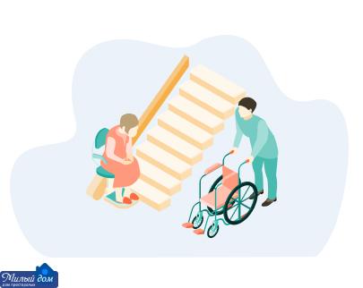 Восстановление пожилых после травм в доме престарелых