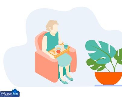 Оформление пенсионера в дом престарелых