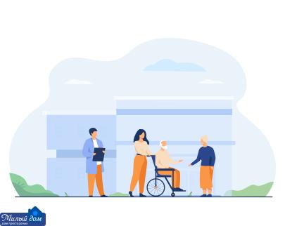 Послуги будинку престарілих