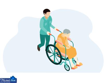 Реабілітація після перелому в будинку престарілих