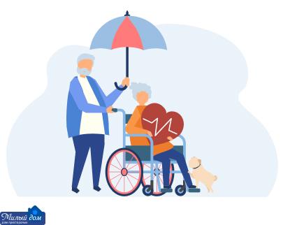Уход за пожилыми людьми в доме престарелых