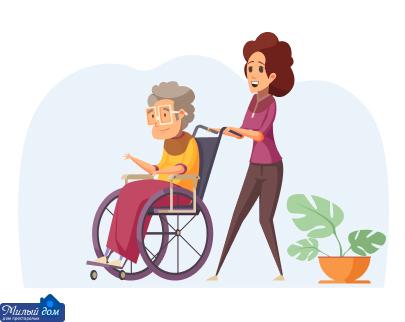 Уход за больными деменцией