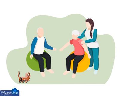 Спеціалізований пансіонат для людей похилого віку