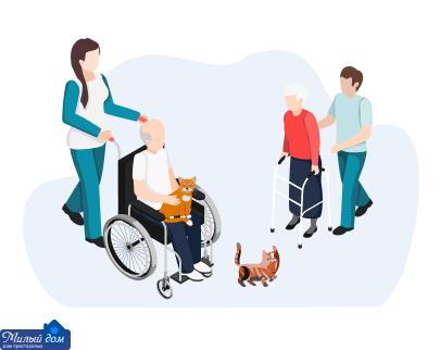 Особенности частных домов домов престарелых