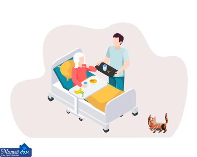Догляд за хворим родичем