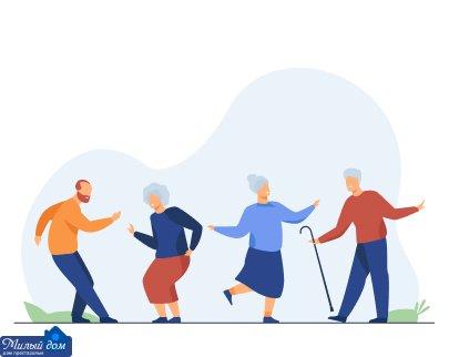 Преимущества оформления пенсионера в частный дом престарелых