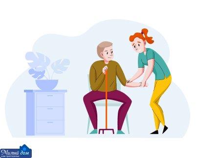 Лечение от избыточного веса в доме престарелых