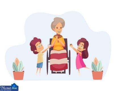 Услуги которые предоставляет дом престарелых