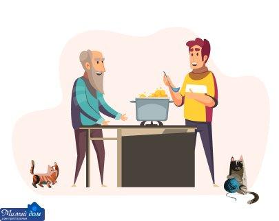 Комфортне життя для близьких людей в будинку престарілих