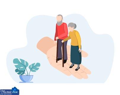 Лікування пролежнів у людей похилого віку