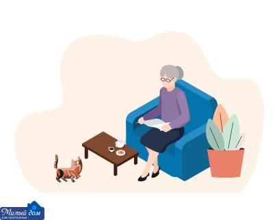 Особенности и преимущества домов престарелых