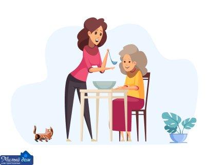 Оформление родственников в дом престарелых