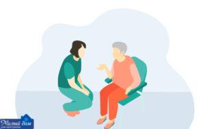 Розміщення пенсіонерів в будинку для літніх людей